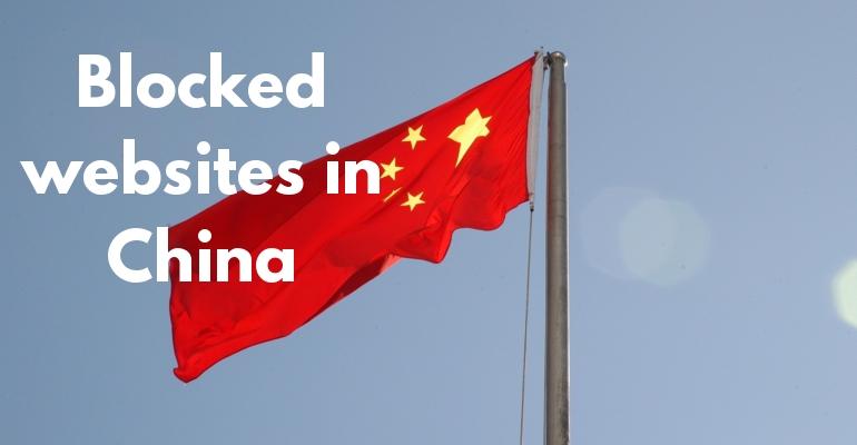 Çin'de engellenen web siteleri